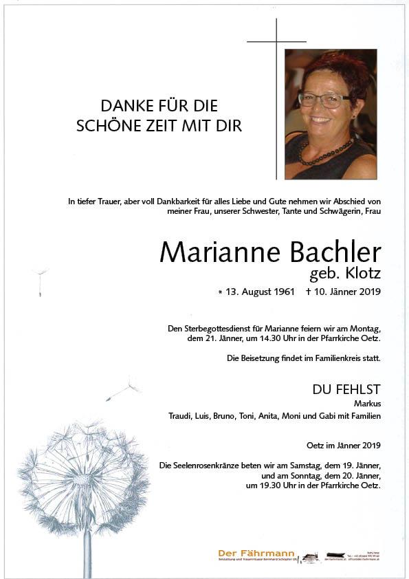 parte Marianne Bachler