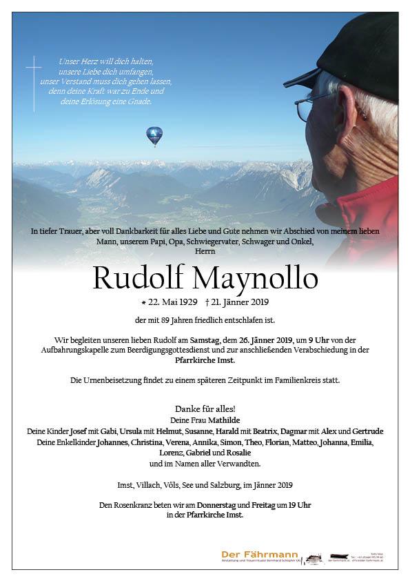 parte Rudolf Maynollo