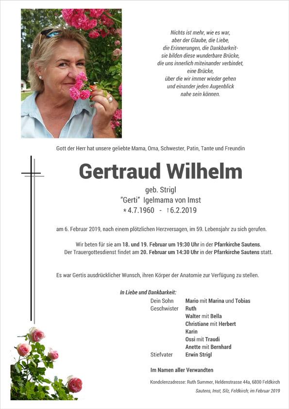 Parte Gertruad Wilhelm