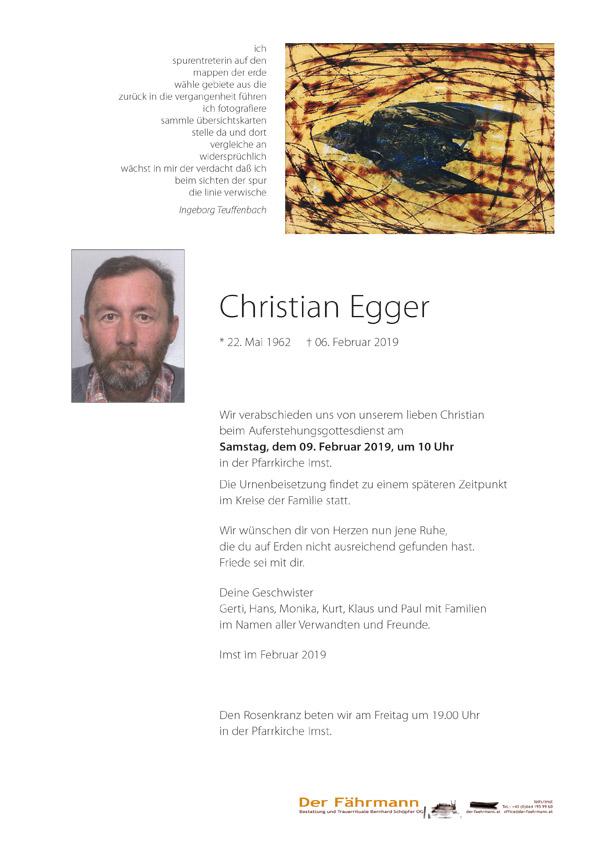 Parten Christian Egger