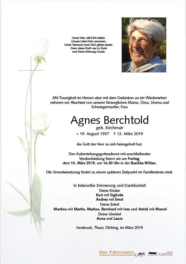 parte Agnes Berchtold