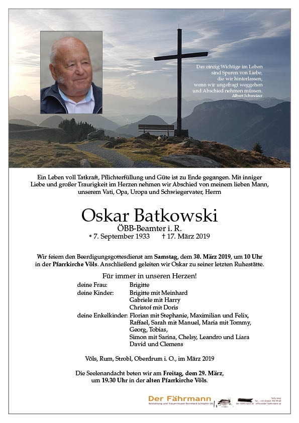 parte Oskar Batkowski