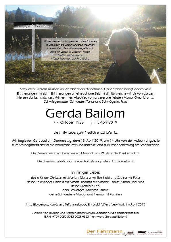 Parte Gerda Bailom