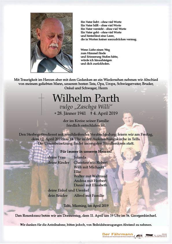 Parte Parth Wilhelm