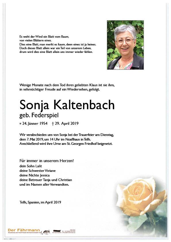 Parte Sonja Kaltenbach