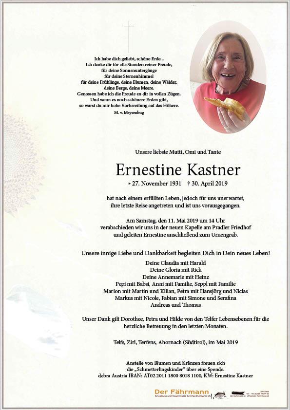 parte Ernestine Kastner