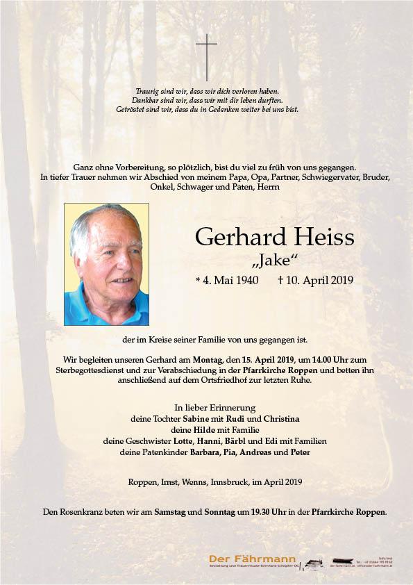 parte Gerhard Heiss