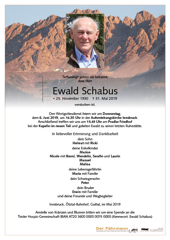 parte Ewald Schabus