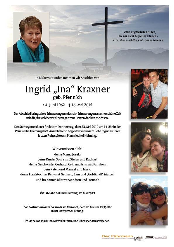 parte Ingrid Kraxner