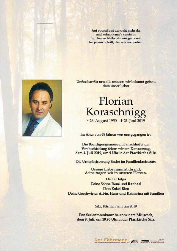 parte Florian Koraschnigg