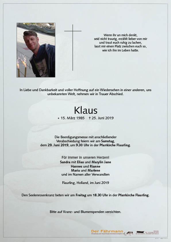 parte Klaus Waldhart