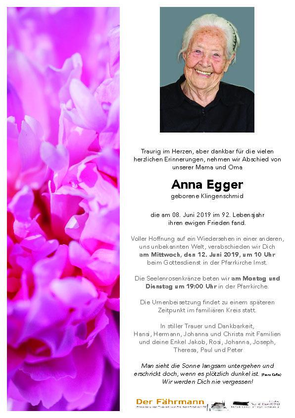 parte anna Egger