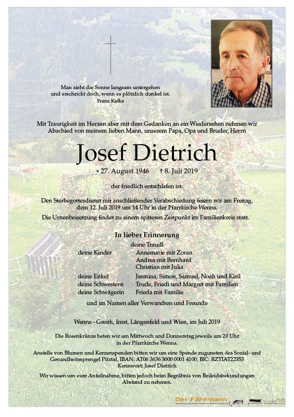 Parte Dietrich Josef