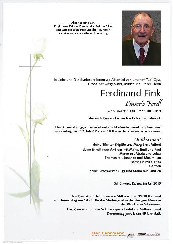 parte Ferdinand Fink