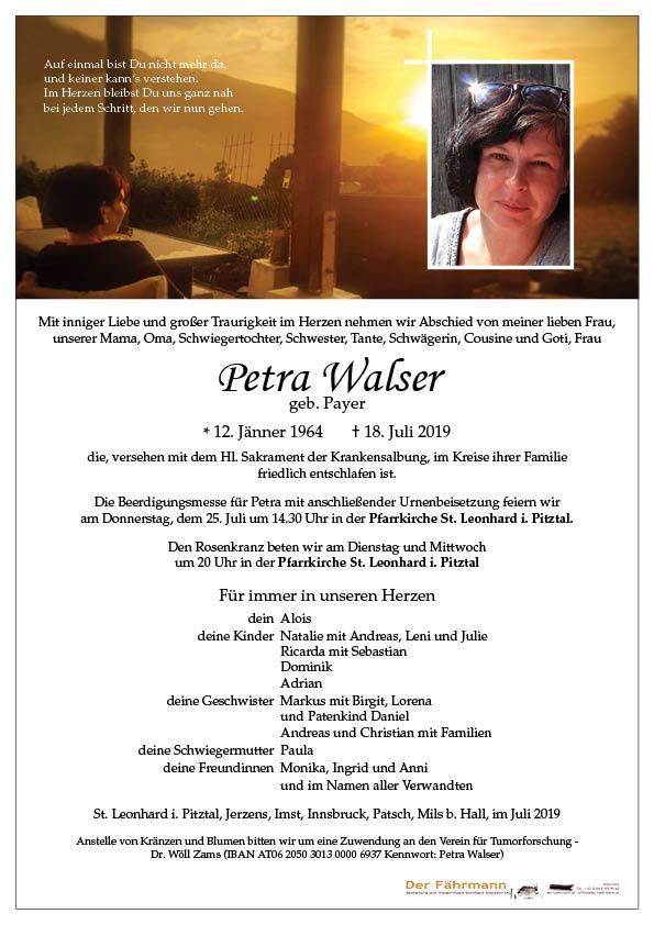parte Petra Walser