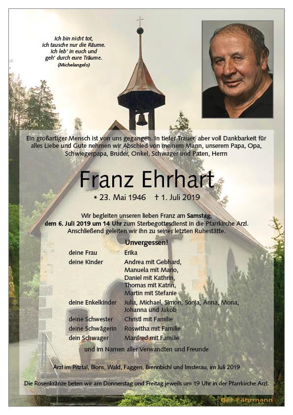 parte Franz Ehrhart
