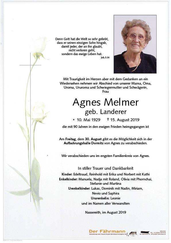 Parte Agnes Melmer