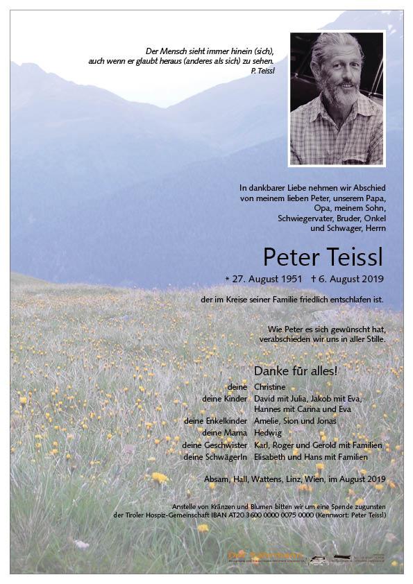parte Peter Teissl