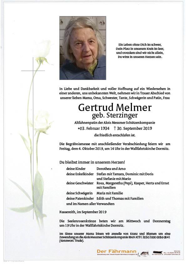 Parte Gertrud Melmer