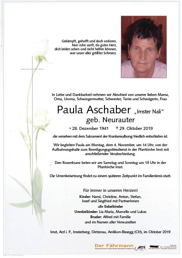 Parte Paula Aschaber