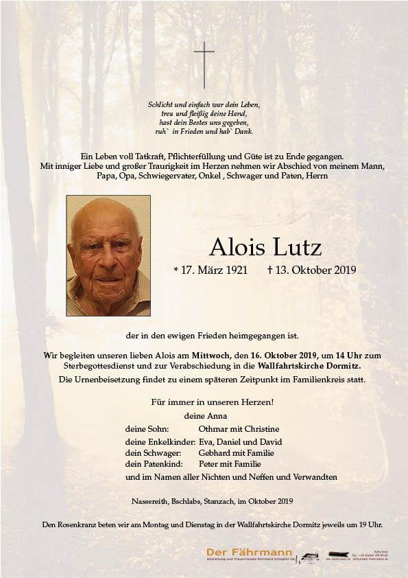 parte Alois Lutz