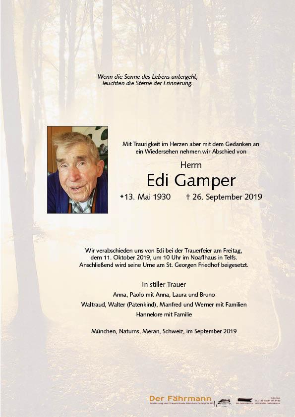 parte Edi Gamper