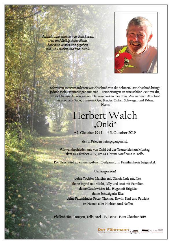 parte Herbert Walch