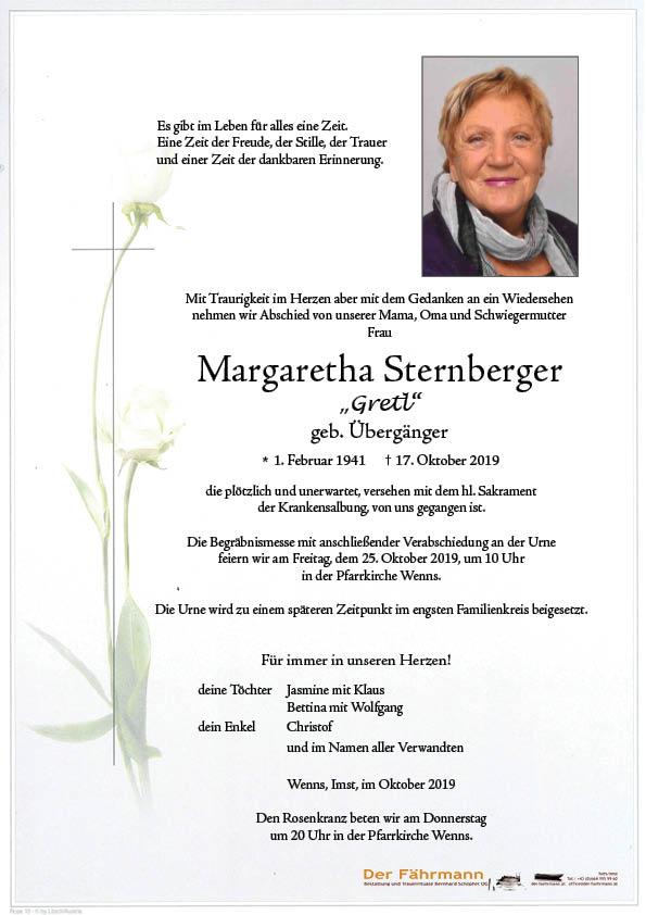 parte Gretl Sternberger