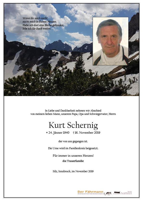 parte Kurt Schernig