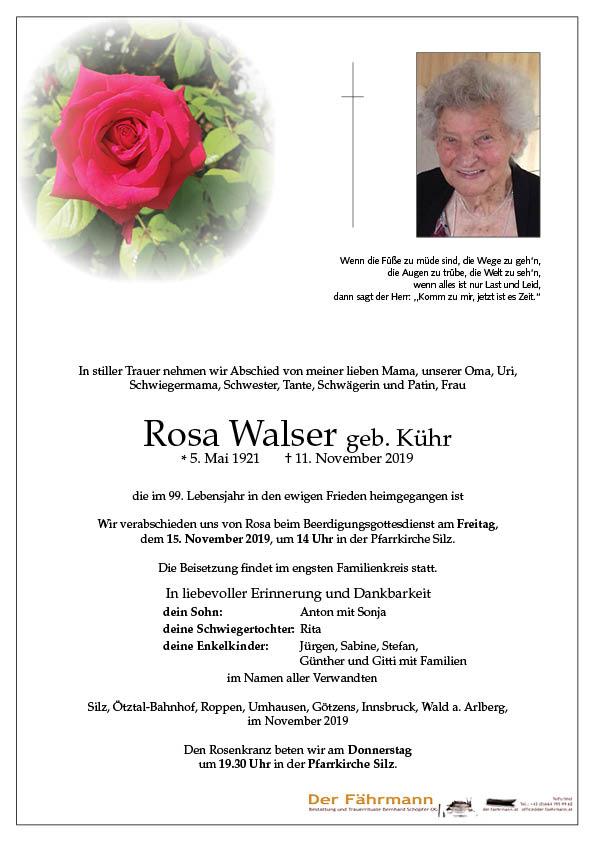 parte Rosa Walser