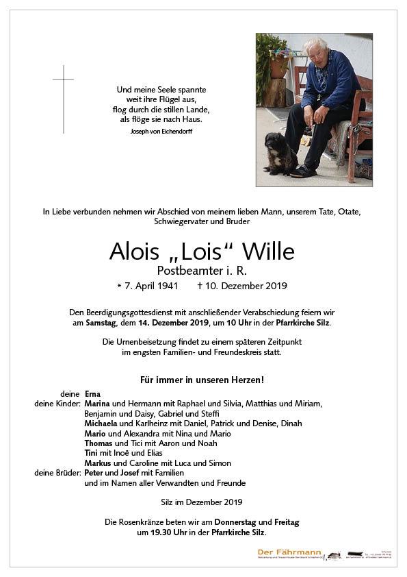 parte Lois Wille
