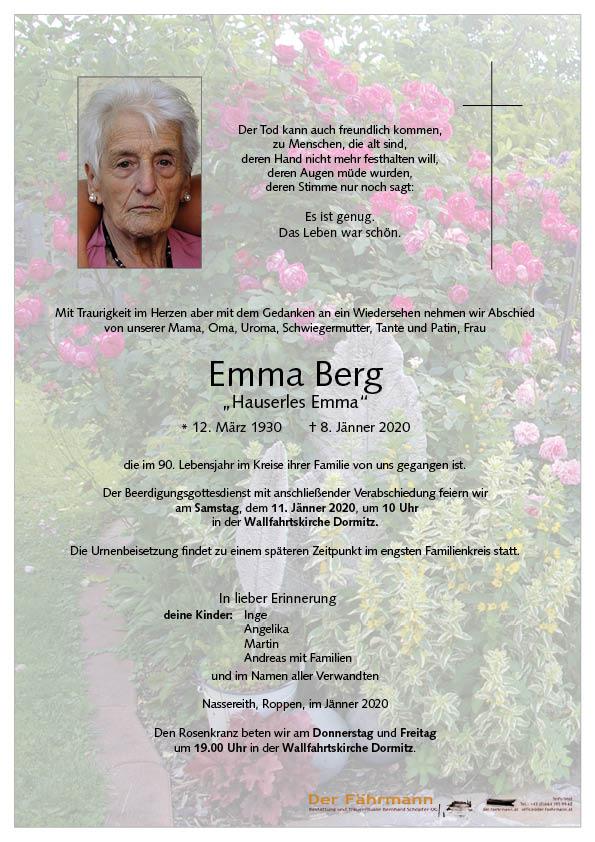 parte Emma Berg