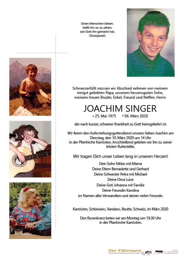 Parte Joachim Singer
