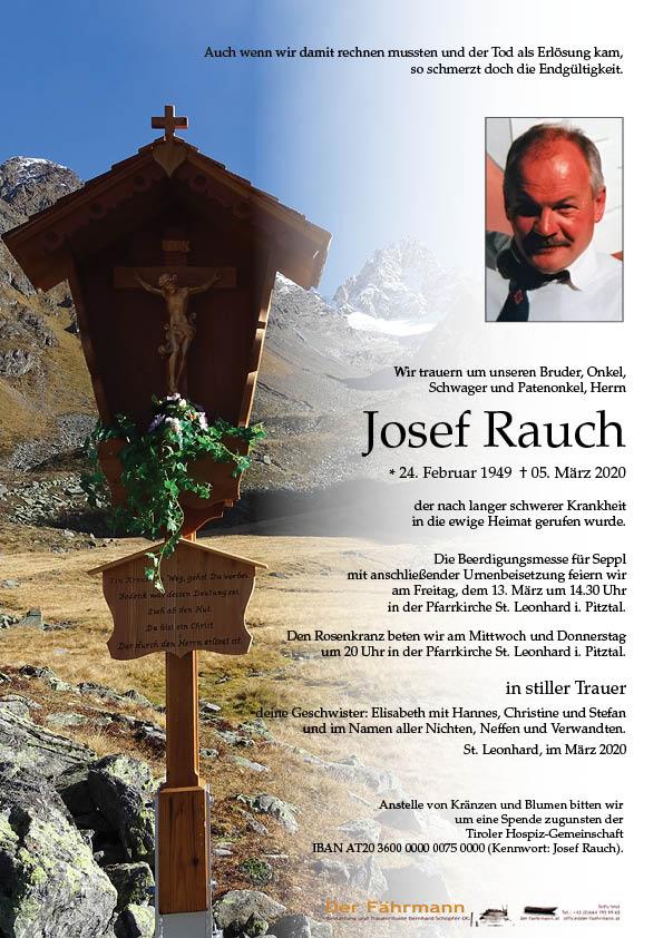 parte Josef Rauch