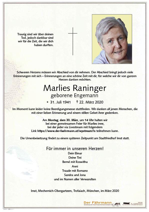 parte Marlies Raninger