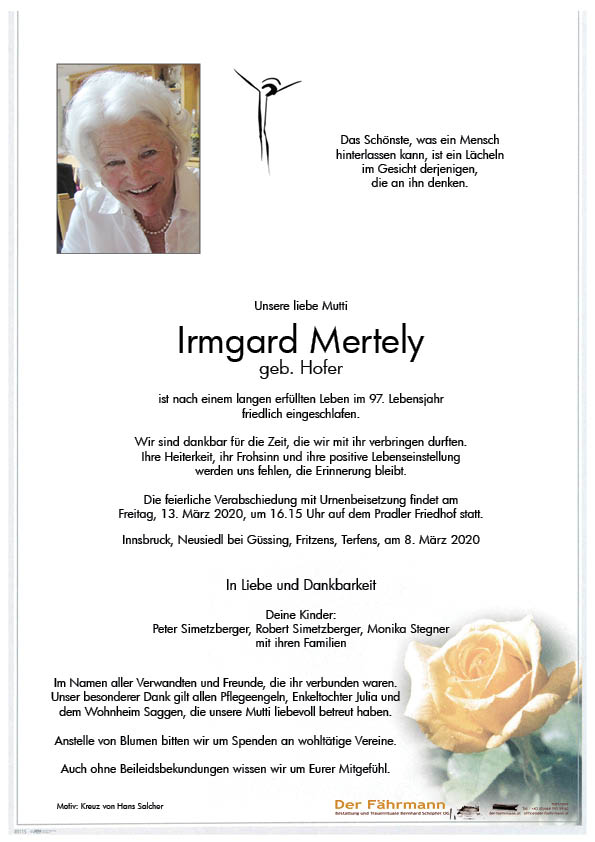 parte Imrgard Mertely