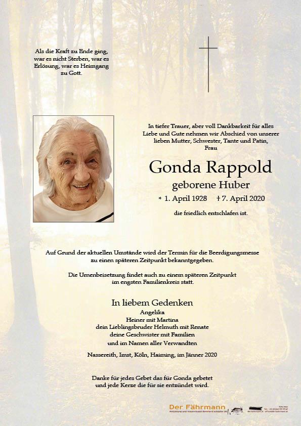 parte Gonda Rappold