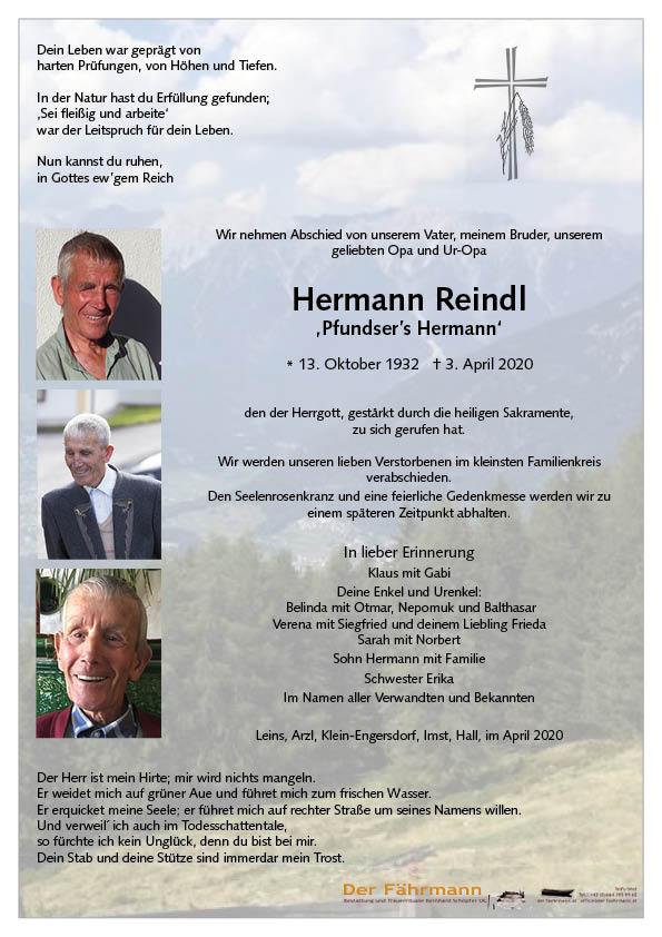 parte Hermann Reindl