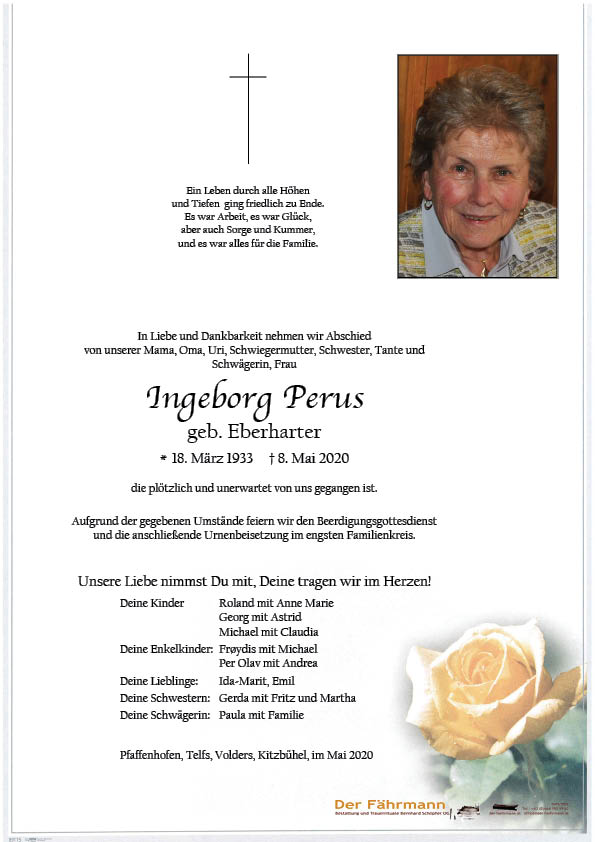 parte Ingeborg Perus