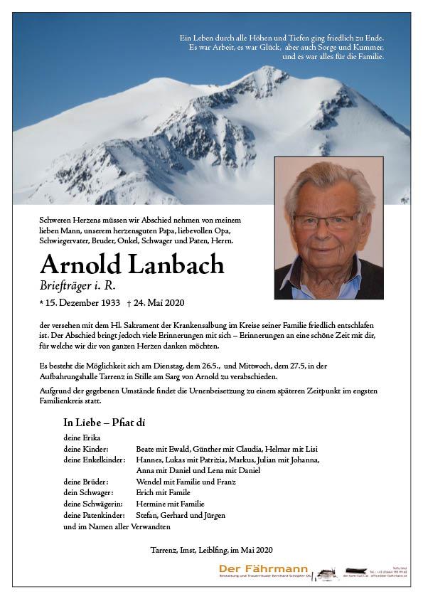 parte arnold lanbach