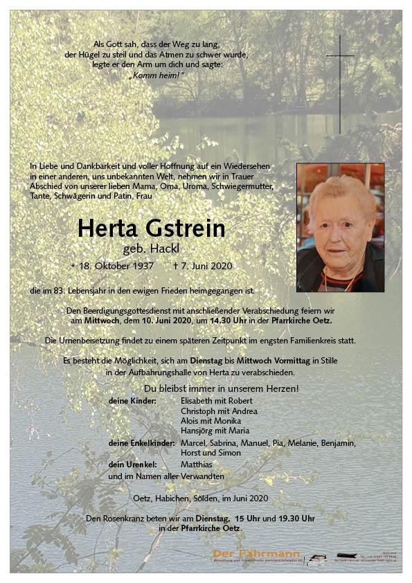parte Gstrein Herta