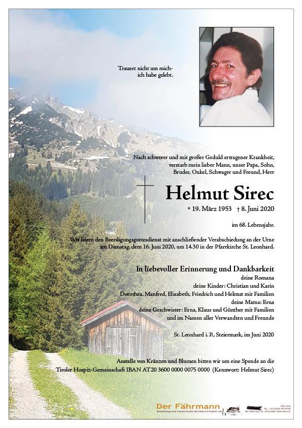 parte Helmut Sirec