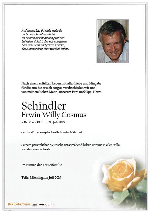 parte Schindler Erwin