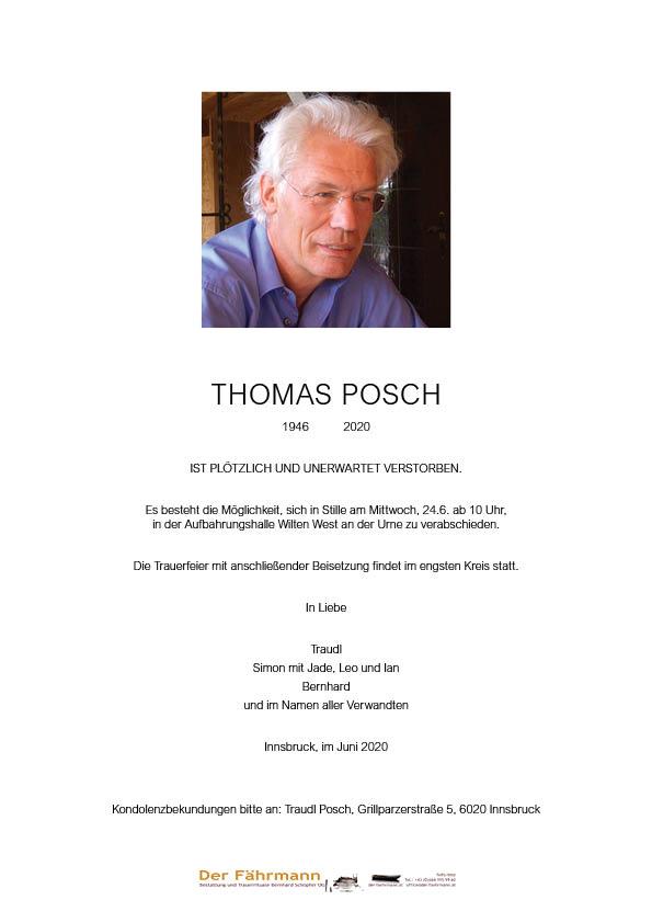 parte Thomas Posch