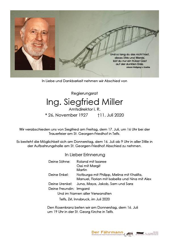 Parte Siegfried Miller