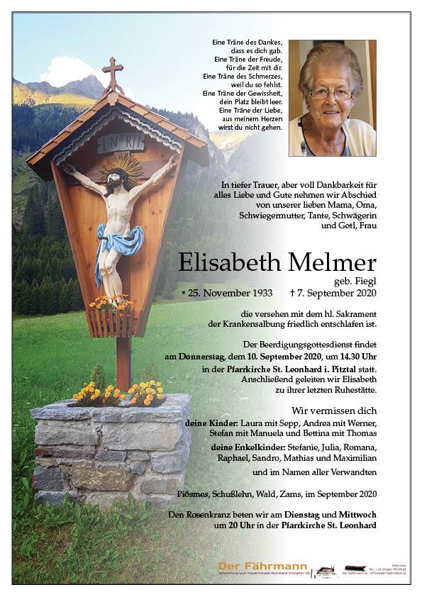 parte Elisabeth Melmer