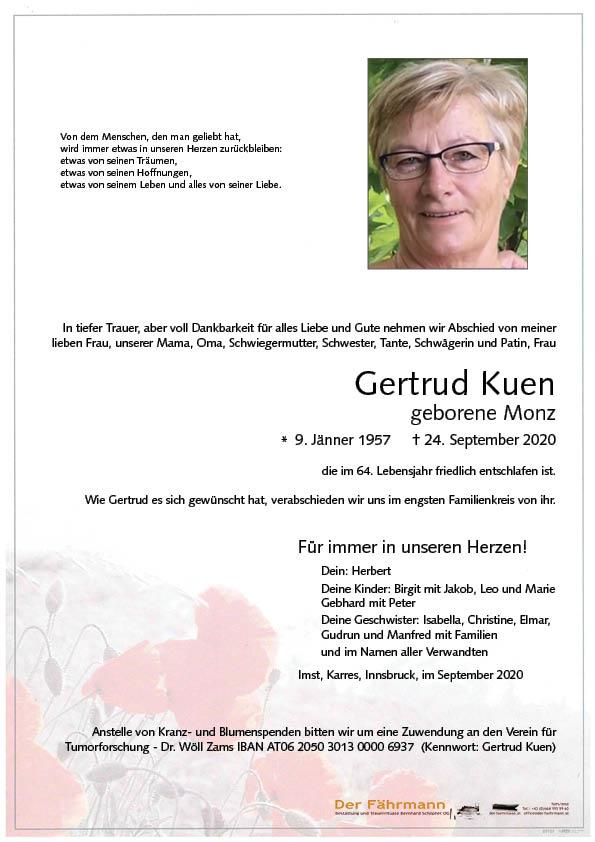 parte Gretrud Kuen
