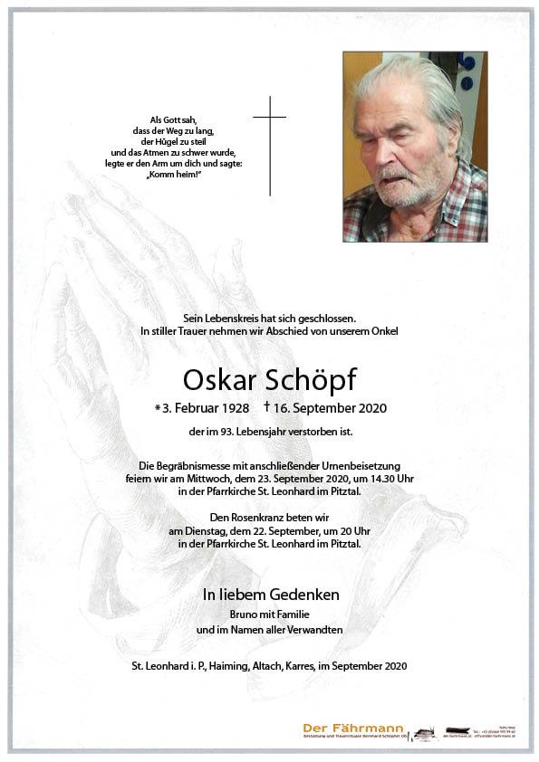 parte Oskar Schöpf