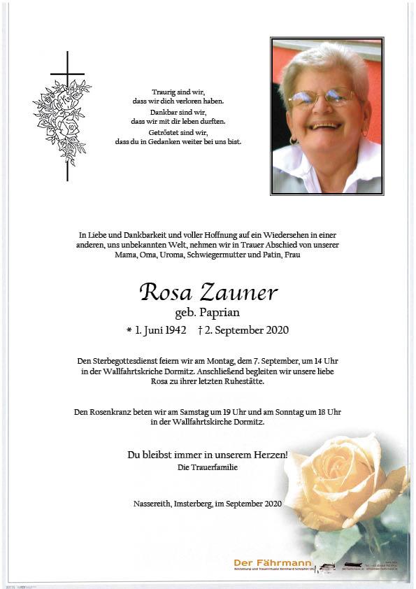 parte Rosa Zauner