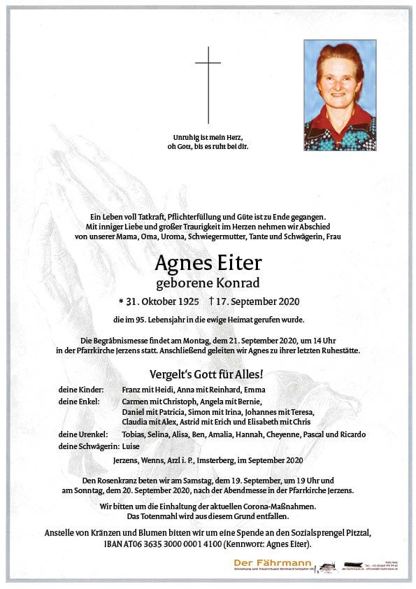 parte Agnes Eiter
